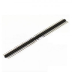 HEADER PIN 1X40 2MM 2/SET