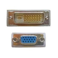 DVI (M) - VGA (F) ADAPTOR 24 + 1 DIGITAL
