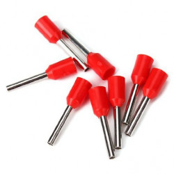 TERMINALS E1010 TG-JT RED 20PCS