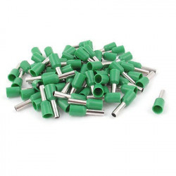 TERMINALS E1008 TG-JT GREEN 20PCS