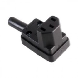 IEC POWER VERTICAL RIGHT ANGLE FEMALE 3-PIN