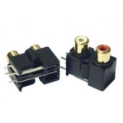 RCA DUAL PLUG PCB MOUNT