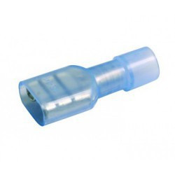 QUICK CONNECTORS BLUE (FEMALE) INSUL. F2-6.4 10PCS