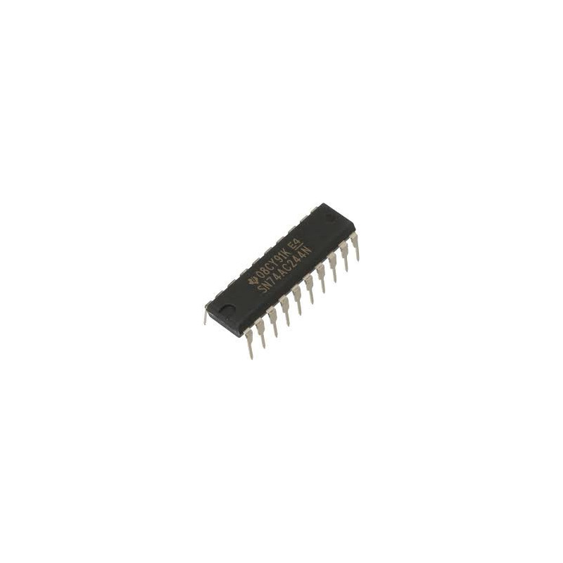 IC 74AC244 OCTAL BUF/LINE DRIVER W/3 STATE OUT TTL