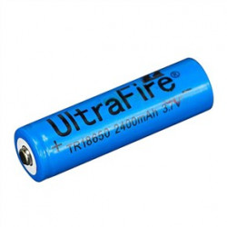 BATTERY, RECHARGABLE, LI-ION, 3.7V, 2400mAH