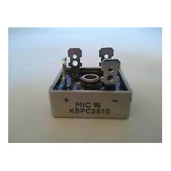 BRIDGE RECTIFIER 1000V 25A KBPC2510