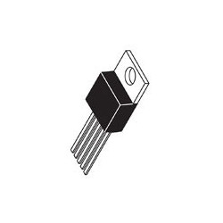 IC LM2576T-ADJ SWITCHING DOWN REGULATOR 40V 3A