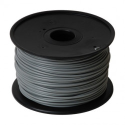 3D PRINTER FILAMENT PLA 3.0MM 1KG GREY