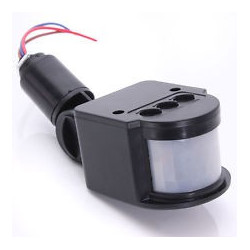 110V PIR MOTION SENSOR WITH ADJUSTABLE SEN/TIMER/L