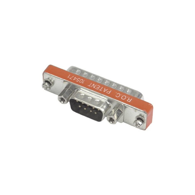 DB-9(M) DB-25(M) GENDER CHANGER GC-711/S