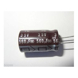 ELECTROLYTIC CAP 35V 560UF 5PCS