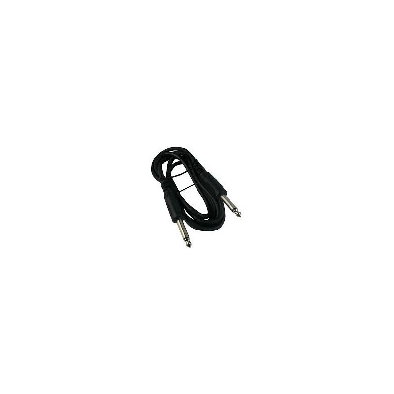 "AUDIO CABLE, 1/4"" MONO - 1/4"" MONO 1.8M"