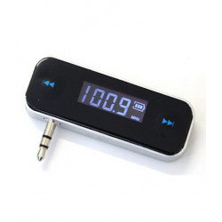 FM TRANSMITTER W/USB & CAR ADPATOR