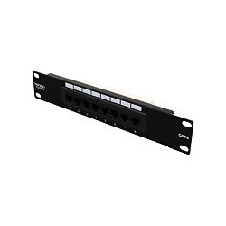 PATCH PANEL CAT6 1U 8 PORT