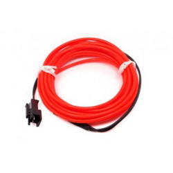 EL WIRE KIT, ORANGE, 2 METER W/DRIVER