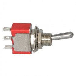 TOGGLE SWITCH,SPDT,ON-(ON),5A,SOLDER LUG