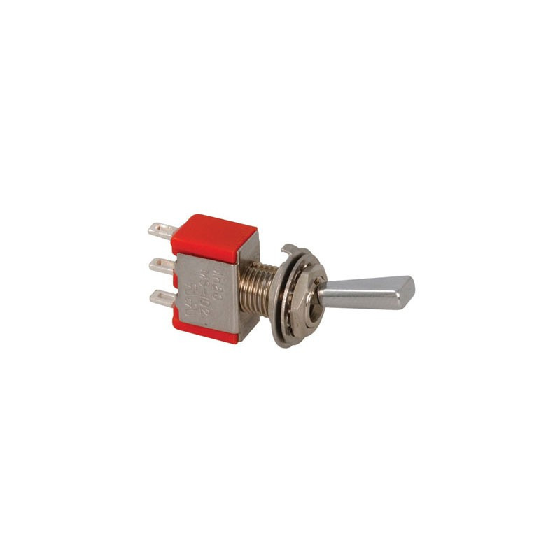 TOGGLE SWITCH SPDT ON-ON 5A LONG LEVER