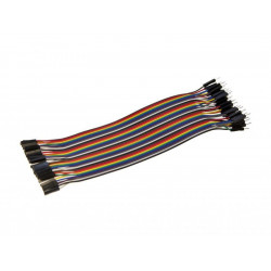 FLAT RIBBON JUMPER CABLE 40 PIN F/M 300MM