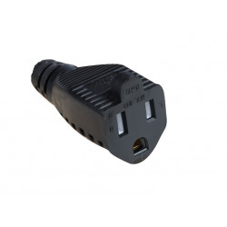 POWER SOCKET NEMA 5-15 3-PRONG