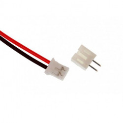 JUMPER WIRE, JST, 2PIN, 1.25MM (M/F)