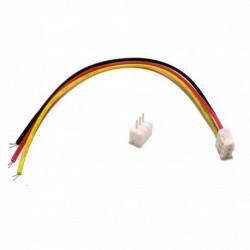 JUMPER WIRE, JST, 3PIN, 1.25MM (M/F) SET