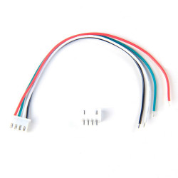 JUMPER WIRE, JST, 4PIN, 1.25MM (M/F) SET