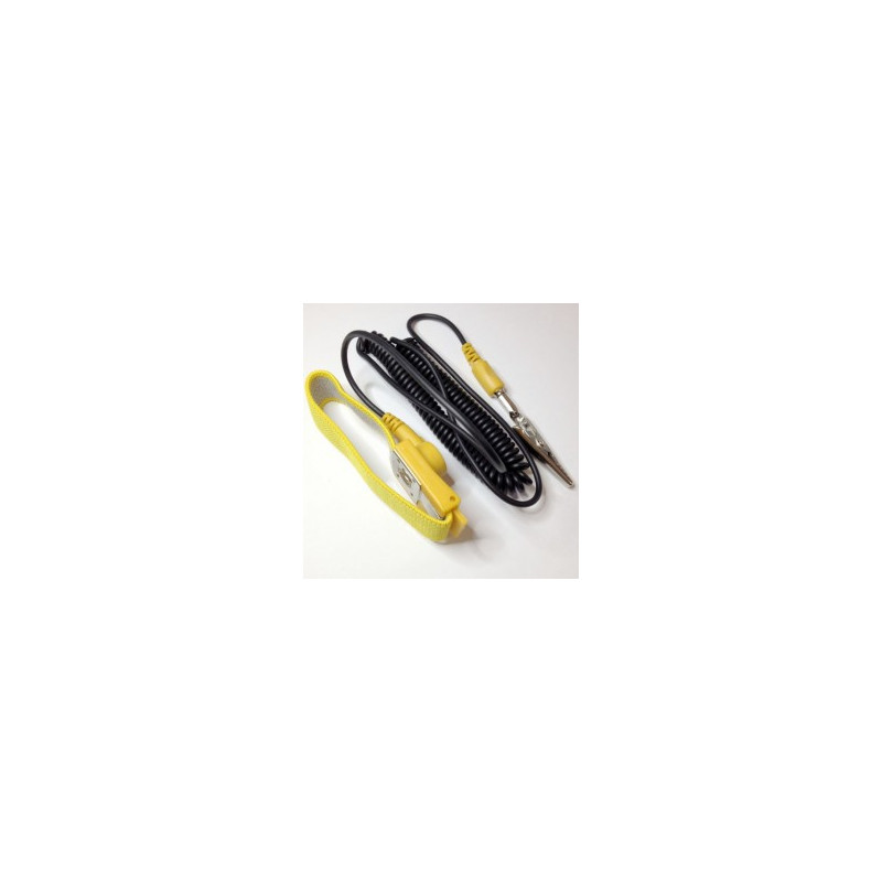 TOOL, ANTI STATIC BELT YELLOW AST-1 W/ELASTIC