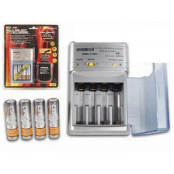 BATTERY CHARGER UNIVERSAL, AA,AAA, 9V