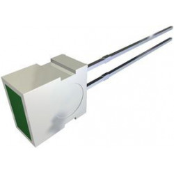 LED 4X6 GREEN DIFFUSED LUMEX