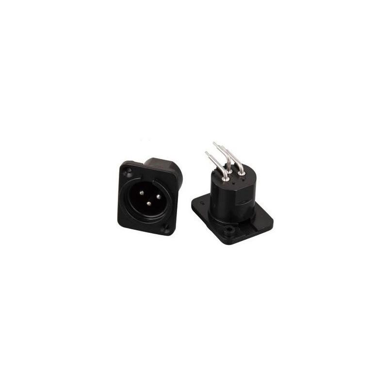 XLR 3-PIN PCB MOUNT(M) SLF-5845