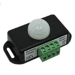 LED PIR MOTION SWITCH 12-24VDC 6A