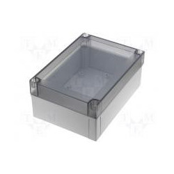 ENCLOSURE, PLASTIC FIBOX 255X180X75MM