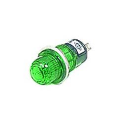 PILOT LAMP GREEN 12VDC N809-P