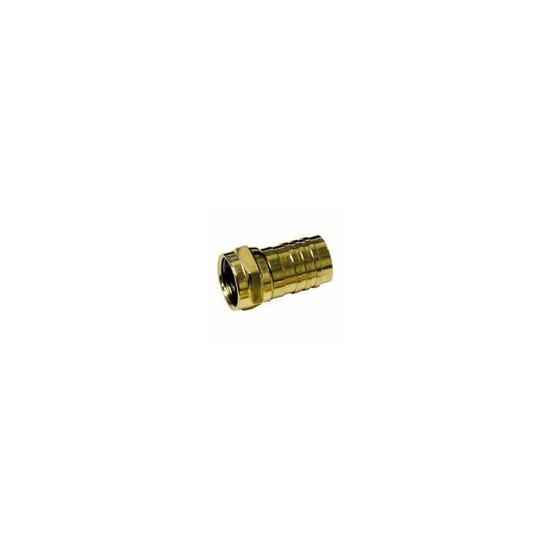 RG-59 TV CRIMP CONNECTOR 2PCS