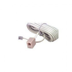 6P/4C DUPLEX EXTENSION CORD 25FT12-