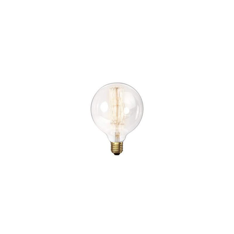 VINTAGE LIGHT BULB G95 25W 120VAC E27