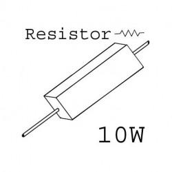 SOLEN METAL OXIDE RESISTOR 4.3OHM 10W, MO1000J4R7