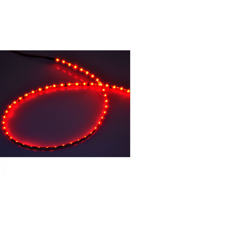 LED STRIP, SIDE EMITTING RED /METER