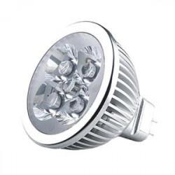 LED SPOT LIGHT, MR16, 12V, 4X1W, GREEN