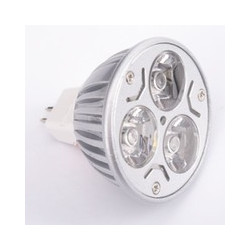 LED SPOT LIGHT, MR16, 12V, 3X1W, WARM WHITE