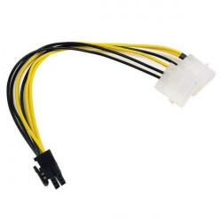 POWER SOCKET (COMPUTER) 4PIN W/PIN