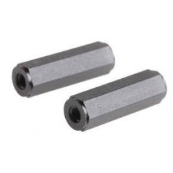 HEX METAL POST 8MM 4PCS