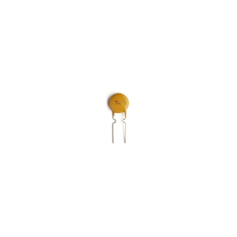 FUSES, RESETTABLE,0.75A