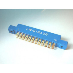 EDGE CONNECTORS 12X2