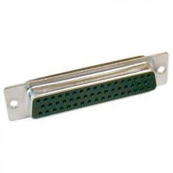 50-PIN D-SUB SOLDER TYPE DB50S (F)