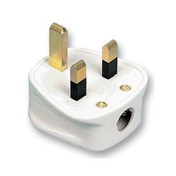 13AMP. POWER PLUG (HONG KONG STYLE)