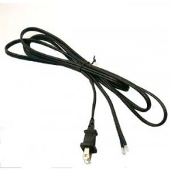 POWER CORD 2 CORE OPEN ENDED 13A-125V