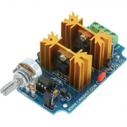 7A DIGITAL BIDIRECTIONAL DC MOTOR SPEED CONTROLLER ASSEMBLE