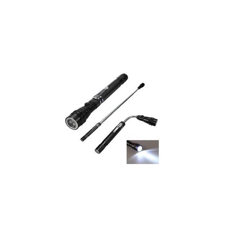 TOOL, FLASHLIGHT W/ MAGNETIC TELESCOPIC PICK UP