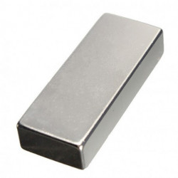 MAGNET, RECTANGULAR, N40, 50X10X2MM